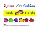 Grade 3 - 2-Steps Word Problems Task Cards