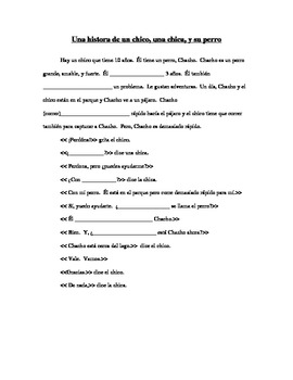 2 Stories - Use of Interrogatives and basic conversations