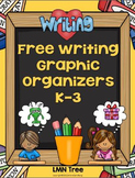 Free Writing Graphic Organizers Grades K-3