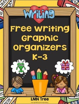 Free Writing Graphic Organizers Grades K-3