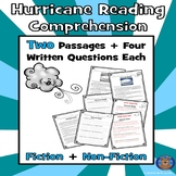 2 Summer Hurricane Paired Reading Comprehension: Hurricane