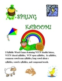2 Syllable Spring KABOOM Word Games