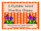 2-Syllable Word Games