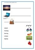 2-Syllable Word worksheet