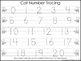 2 Task Worksheets. Cat themed Trace the Alphabet and Numbers 1-20. Preschool-KDG