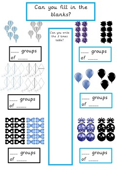 2 Times Table Activity Book