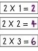 2 Times Table Visual