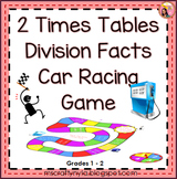 2 Times Tables Division Facts Game