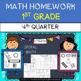 Math Homework for 1st Grade - 4th Quarter