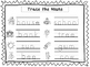 2 Trace the Nouns Worksheets. Preschool-KDG Handwriting.
