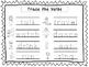 2 Trace the Verbs Worksheets. Preschool-KDG Handwriting.