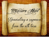 2 Treasure Hunts (Easy and Hard): Generating a sequence fr