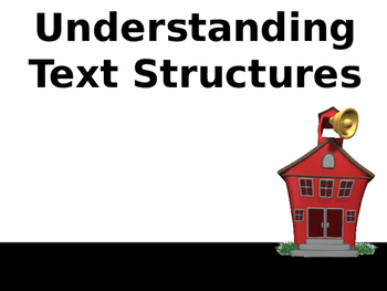 Understanding Text Structure-Complete Teacher PowerPoint Lesson