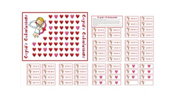 Valentine's Day Math Games - Multiplication and Division within 100