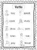 2 Verbs Quick Reference Posters. Parts of Speech