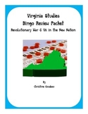 2 Virginia Studies SOL Review Bingo Games-Revolutionary War &VA in a New Nation