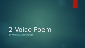 2 Voice Poems