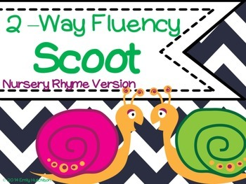 Fluency Scoot Nursery Rhyme Version