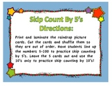2 Weather Math Centers: Skip Counting and Roll and Build