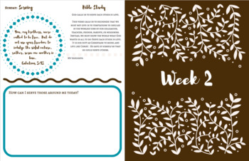 2 Week Daily Themes [Interactive] Devotional
