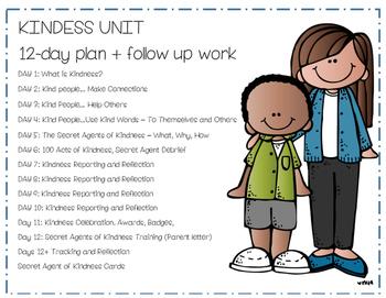 2 Week No-Prep - Kindness / Community Building Unit - Anti-Bullying lessons