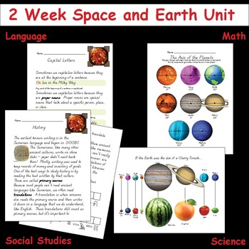 2 Week Space/Earth Unit