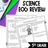 2 Weeks 5th Grade Science EOG Prep