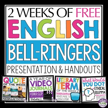 FREE ENGLISH BELL RINGERS VOLUME 1 By Presto Plans TpT