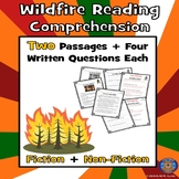 2 Summer Wildfire Paired Reading Comprehension: Spring Fir