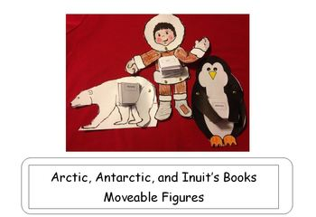2 Winter Animals and 1 Inuit Art Projects/Booklets