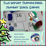 2 Math Stack Games: Winter Sports & Christmas Holidays