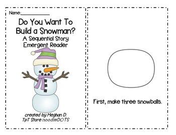 2 Winter Emergent Reader Booklets