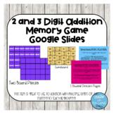 2 and 3 Digit Addition- GOOGLE SLIDES EDITION