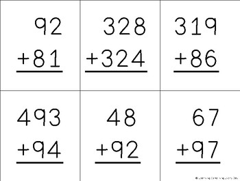 2 and 3 Digit Addition Game