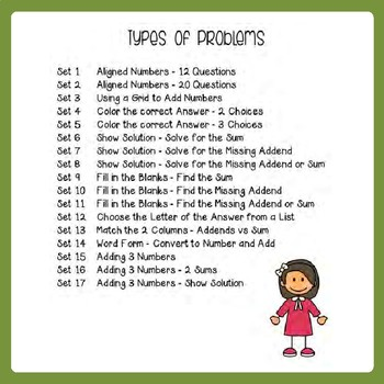 Adding 2 and 3 Digit Addition With Regrouping Worksheets