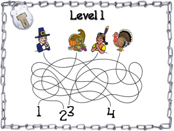 2 and 3 Digit Addition and Subtraction W& WO Regrouping Escape Room Thanksgiving