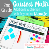2 and 3 Digit Addition and Subtraction with Regrouping Bundle