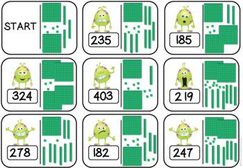 2 and 3 Digit Loop Cards