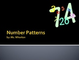 2 and 3 Digit Number Patterns Power Point