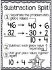 2 and 3 Digit Subtraction Board Games Using Subtraction Split Algorithm