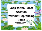 2 and 3 digit Addition Without Regrouping Game, Singapore Math, Math in Focus