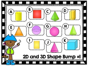 2 and 3D Shape Bump