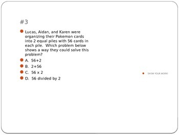 2 by 1 Digit Multiplication Pretzel and Marshmallow Problems