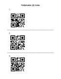 Multiplication QR Codes