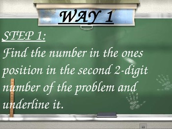 2 by 2 Digit Multiplication - Step by Step