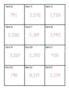 2 by 2 Digit Multiplication with Regrouping Task Cards