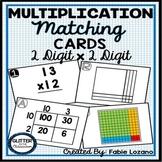 Multiplication Matching Cards - Models & Representations -