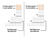 2 by 2 multiplication practice sheet