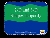 2-d 3-d Shape Review Jeopardy Game