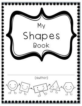 2-d Shapes Workbook for Pre-K/K/1st Grade